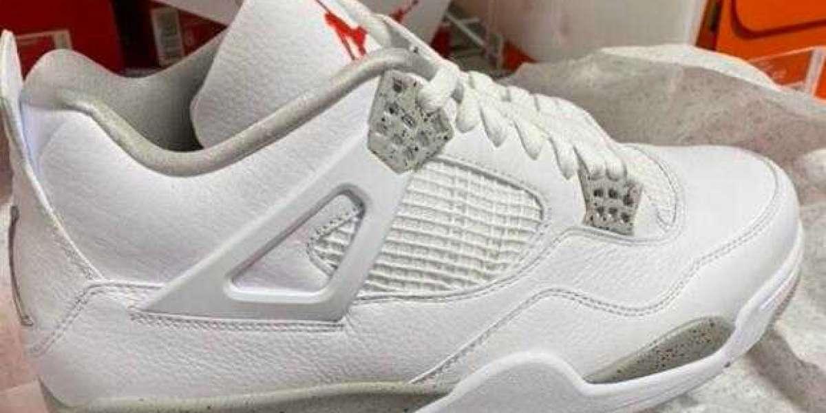 2021 Cheap Sale Air Jordan 4 Retro White Oreo to Buy